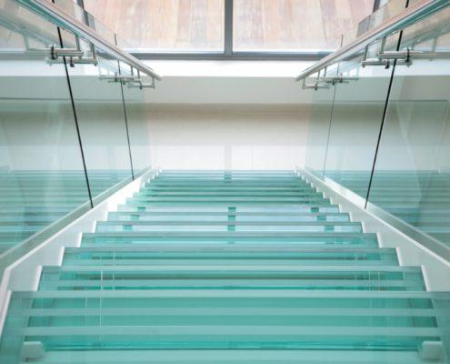 стеклянные ограждения для дома