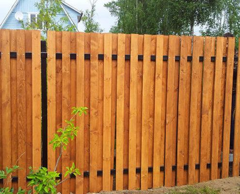 ворота для деревянного забора