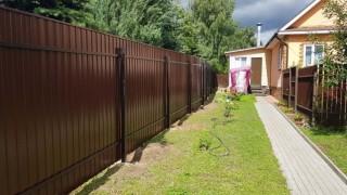 забор на участок