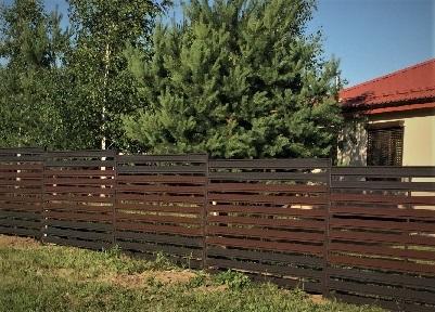 забор ранчо деревянный