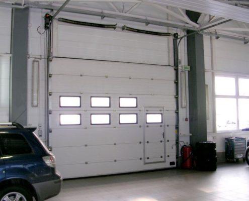 ворота на склад